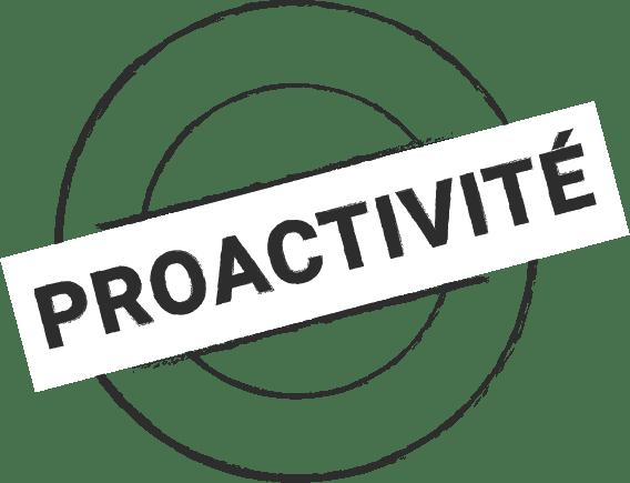 Tampons proactivité